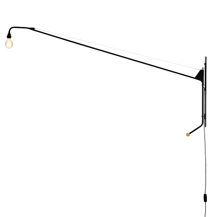 Vitra - Wall light Potence in black