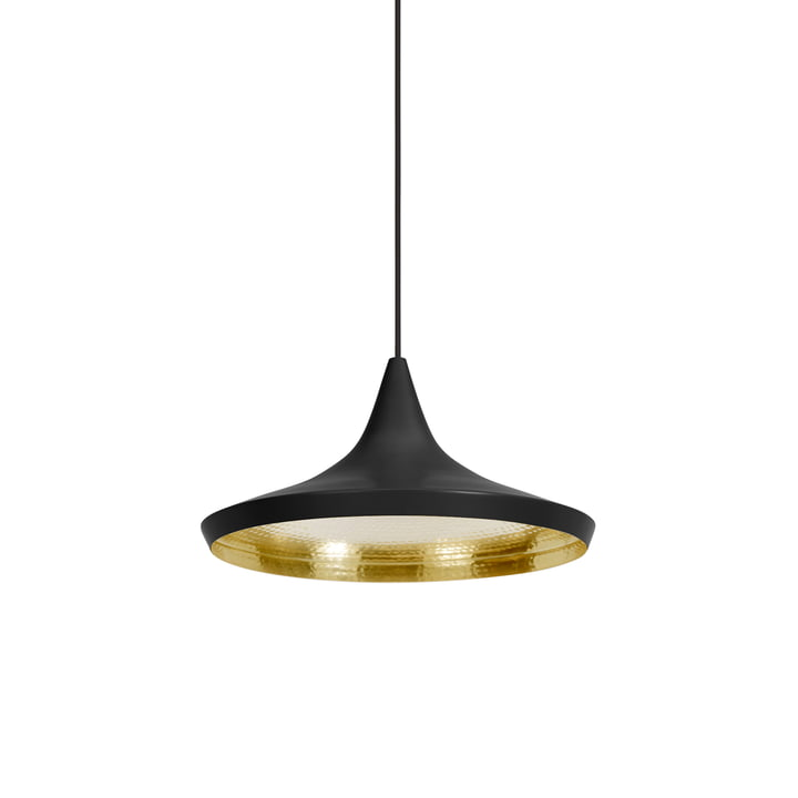 Tom Dixon - Beat Light Wide pendant lamp in black