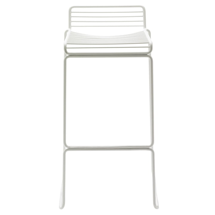 The Hay Hee Bar stool in white