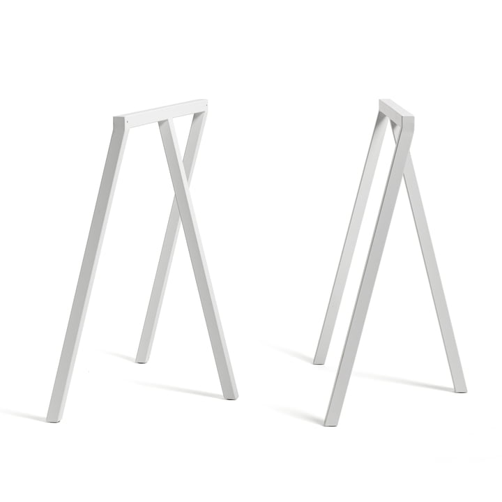Hay - Loop Trestle Stand Frame, white (2 pcs.)