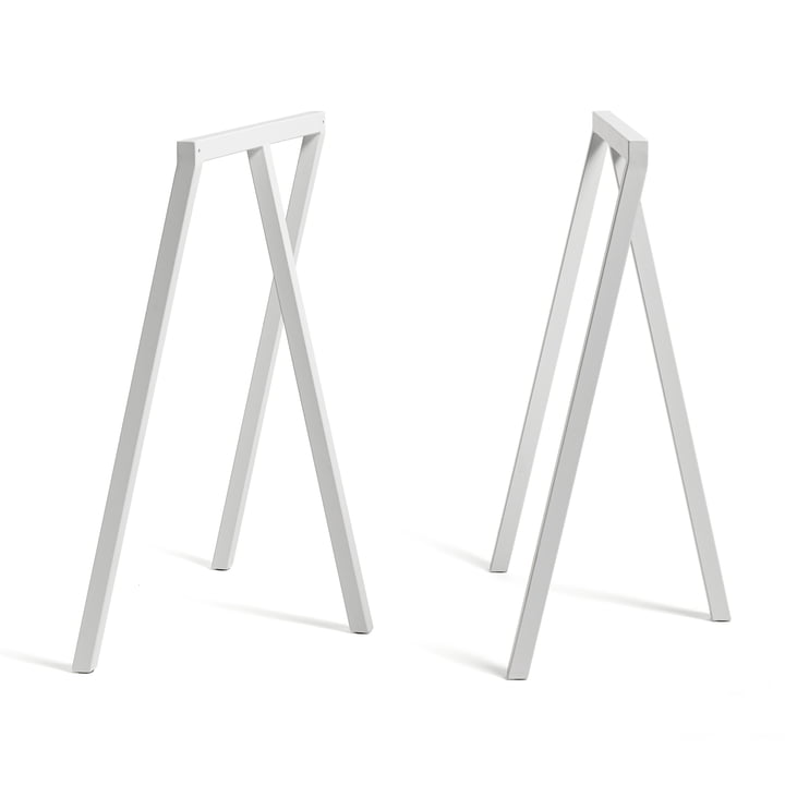 Hay - Loop Trestles Stand Frame High, white (2 pcs.)