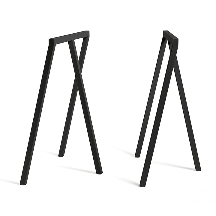 Hay - Loop Trestles Stand Frame High, black (2 pcs.)