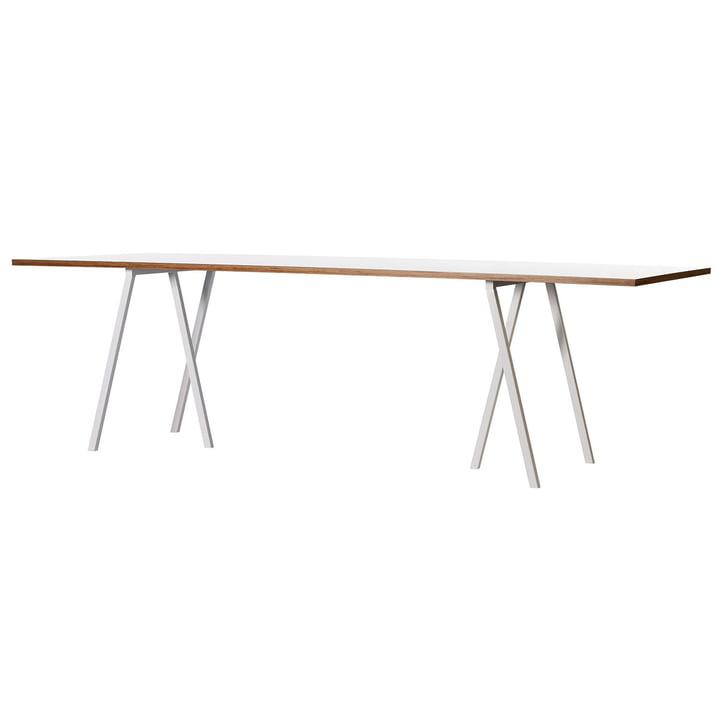 Hay Loop Stand Tisch, weiß