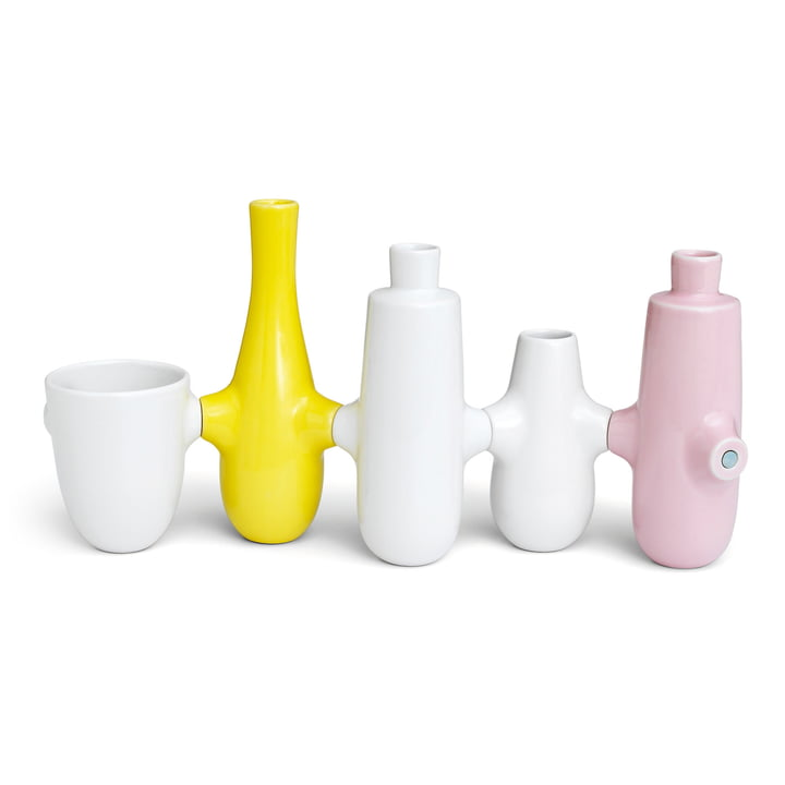 Kähler Design - Fiducia Candle Holder / Vases (set of 5)