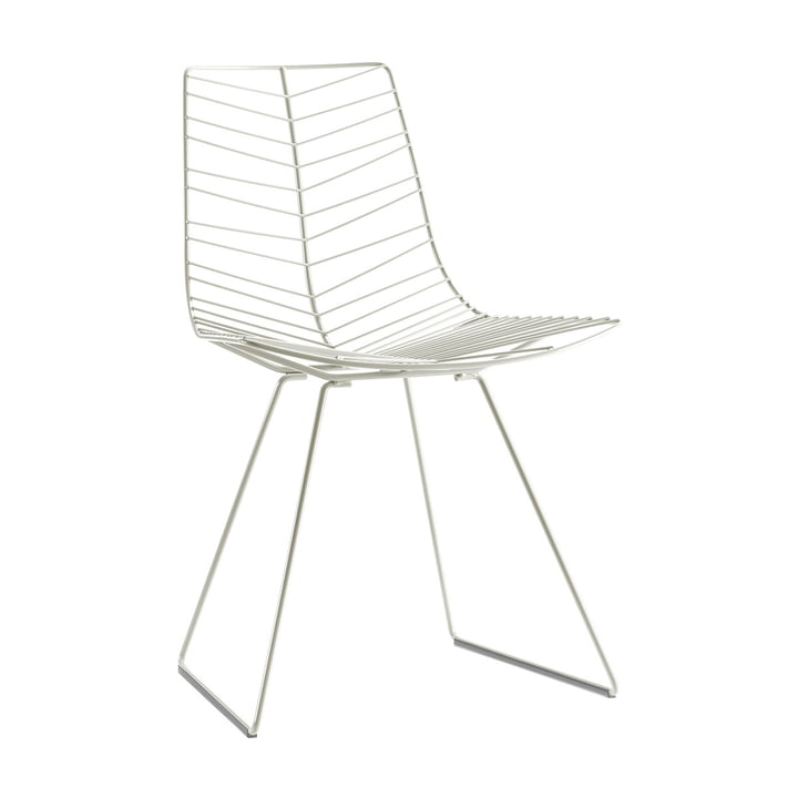 The Leaf chair from Arper , white
