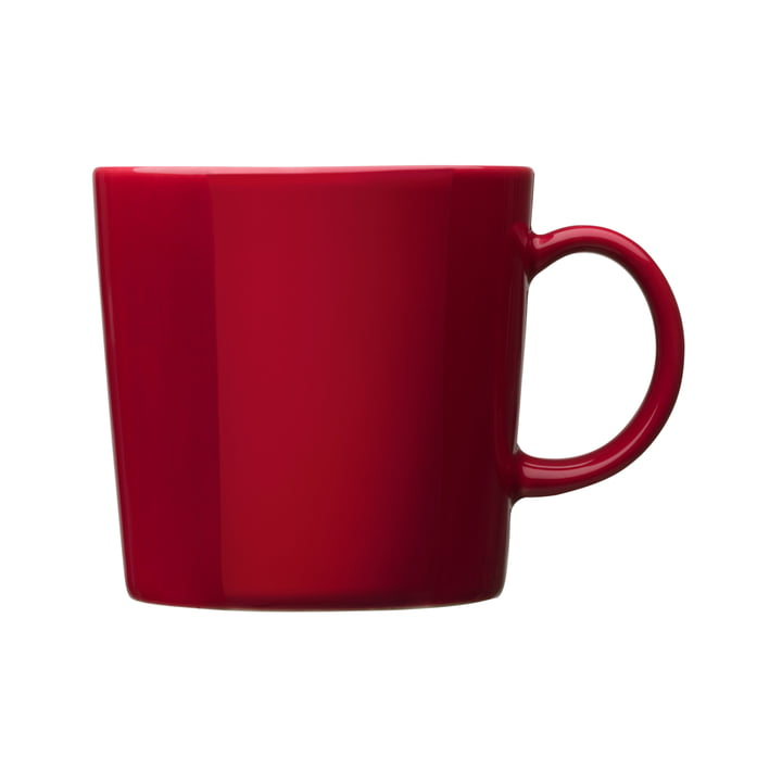 Teema mug with handle 0,3 l, red
