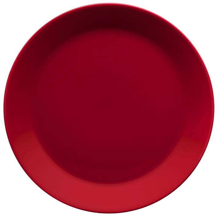 Teema Teller flach Ø 21cm, rot