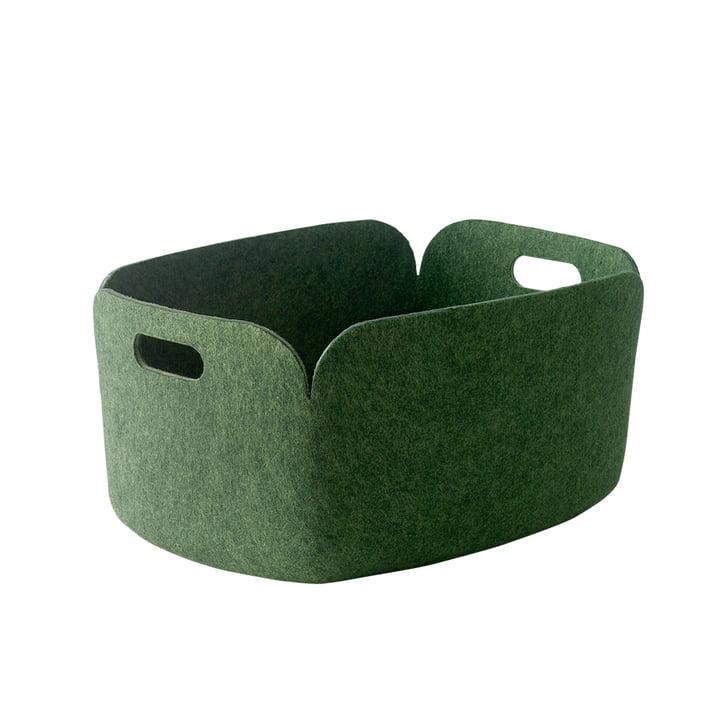 Muuto - Restore storing basket, green