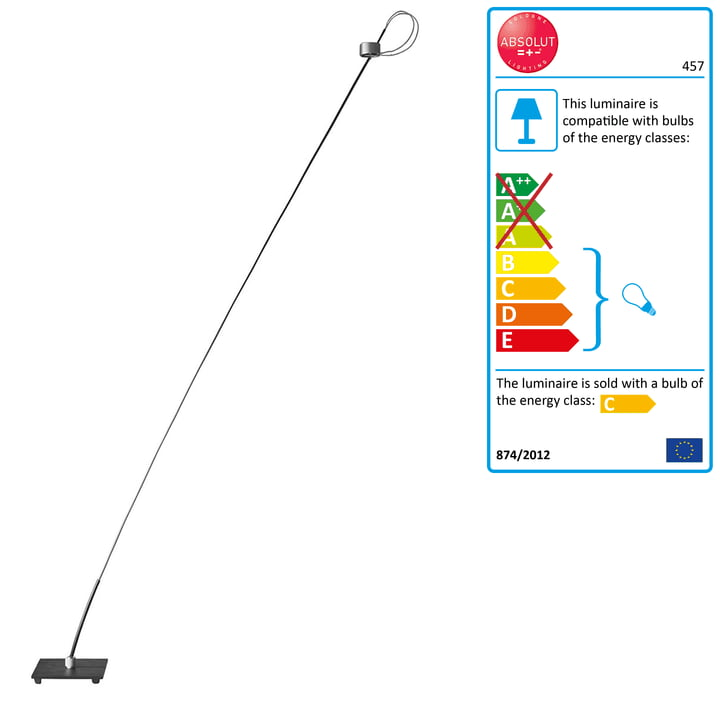 Absolut Floor Lamp 50 Watt by Absolut Lighting