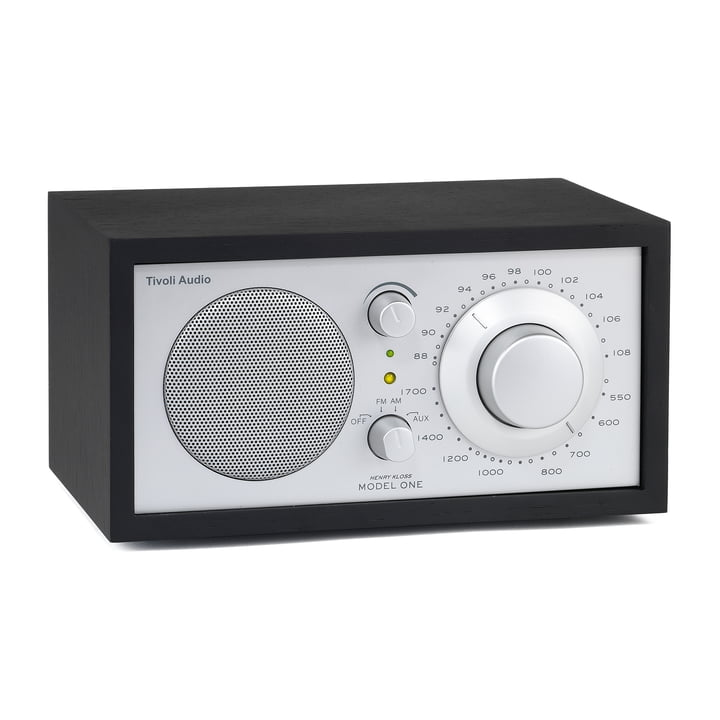 Model One Mono Radio - black / silver