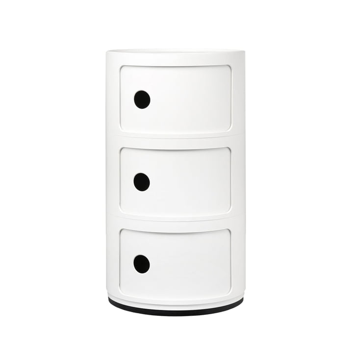 Componibili 4967 by Kartell in white