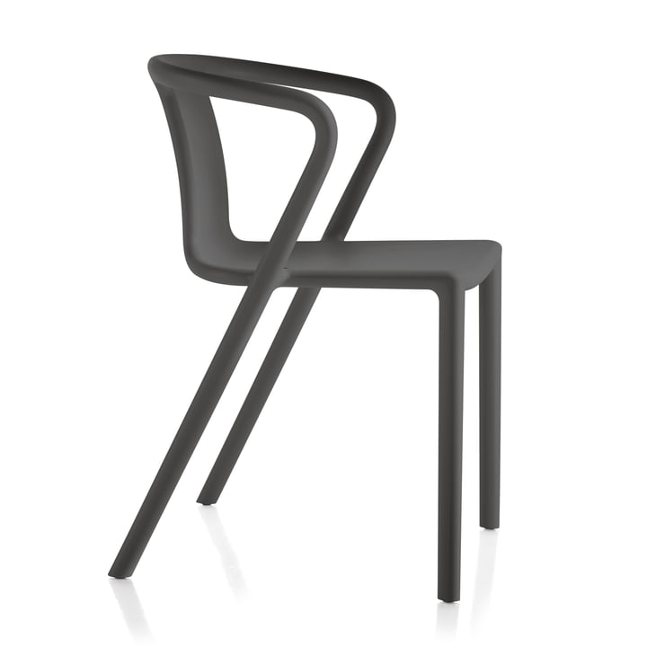 Air-Armchair by Magis in anthracite grey