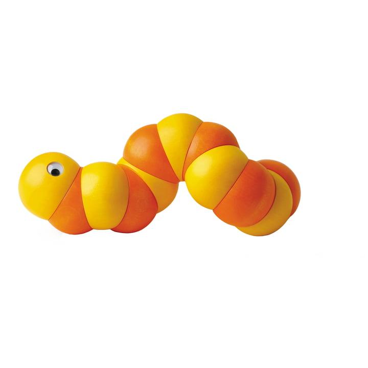 Naef Juba Holzraupe, orange