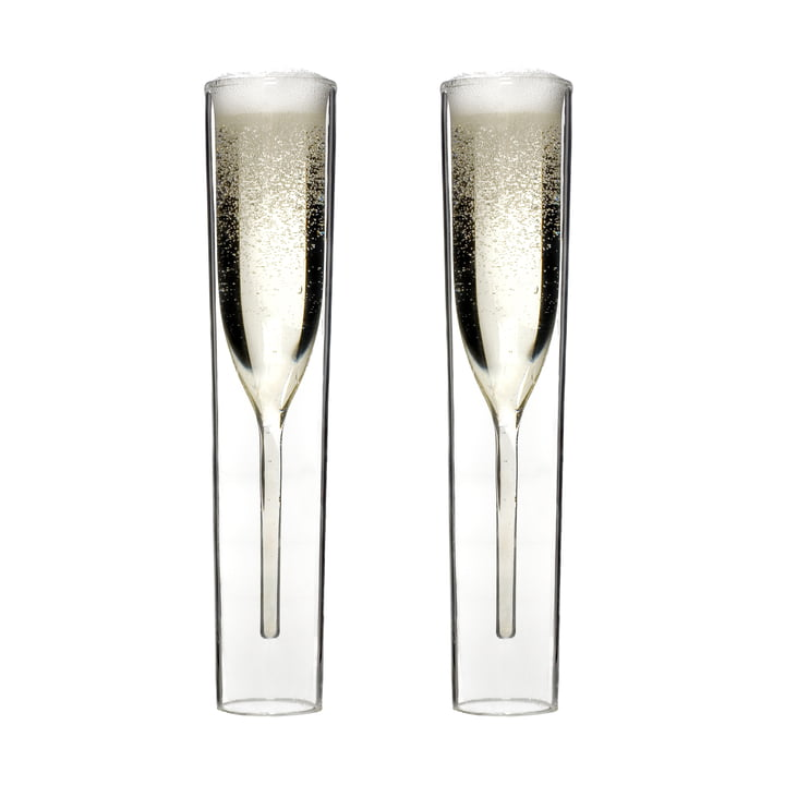 By:Amt - InsideOut Champagne Glass