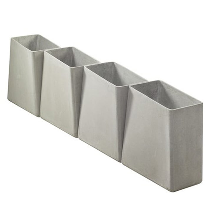 Eternit - Twista plant pot, grey