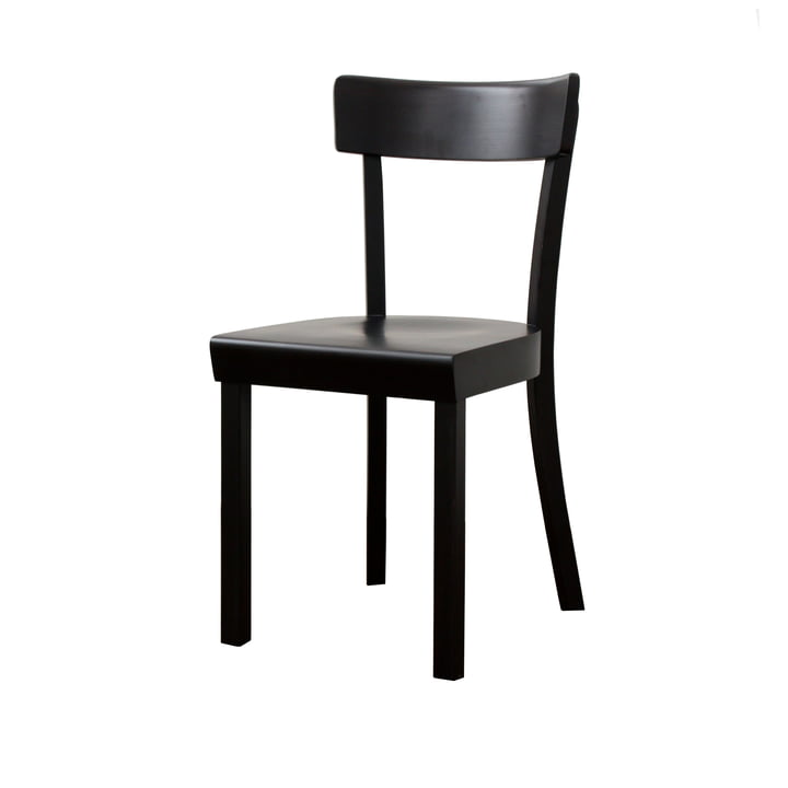 Frankfurt Chair - black, matt lacquered