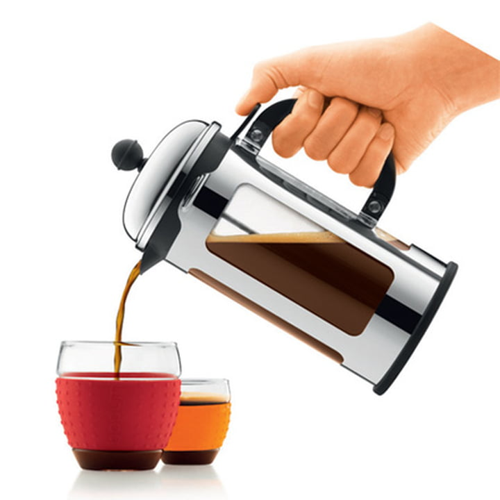 Bodum Chambord Coffee Maker with Spill Over Protection, atmosphere