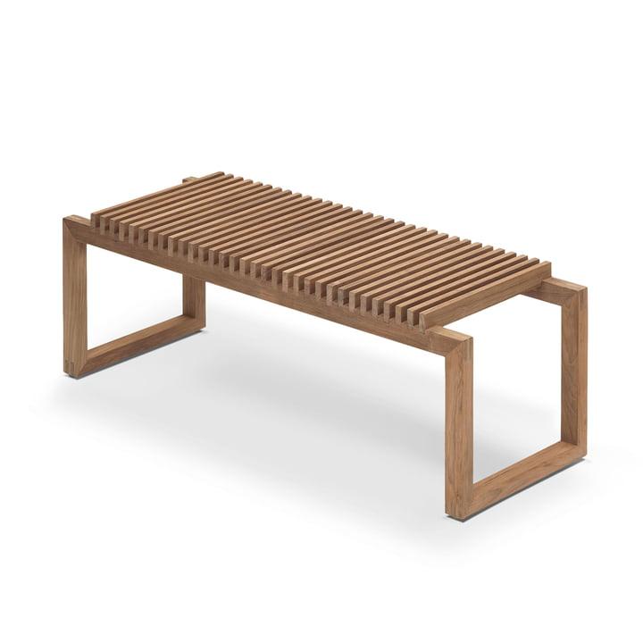Cutter wooden bench