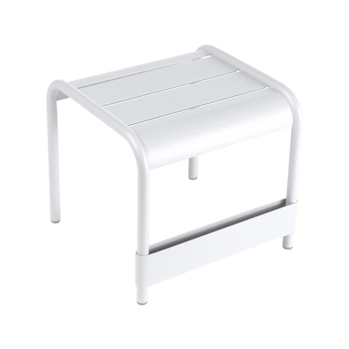 fermob Luxembourg Niedriger Tisch/ Fußbank - weiß