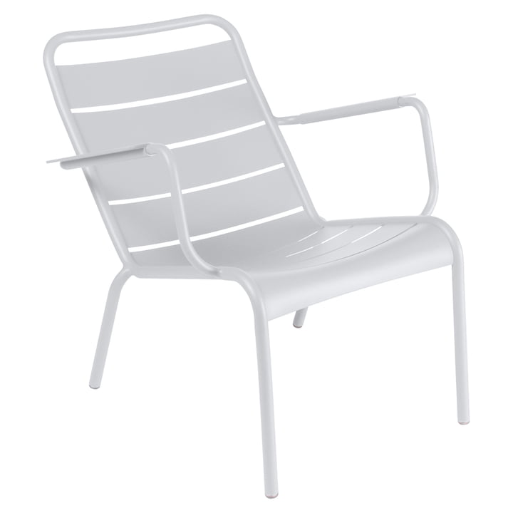 Fermob - Luxembourg Low Armchair, white