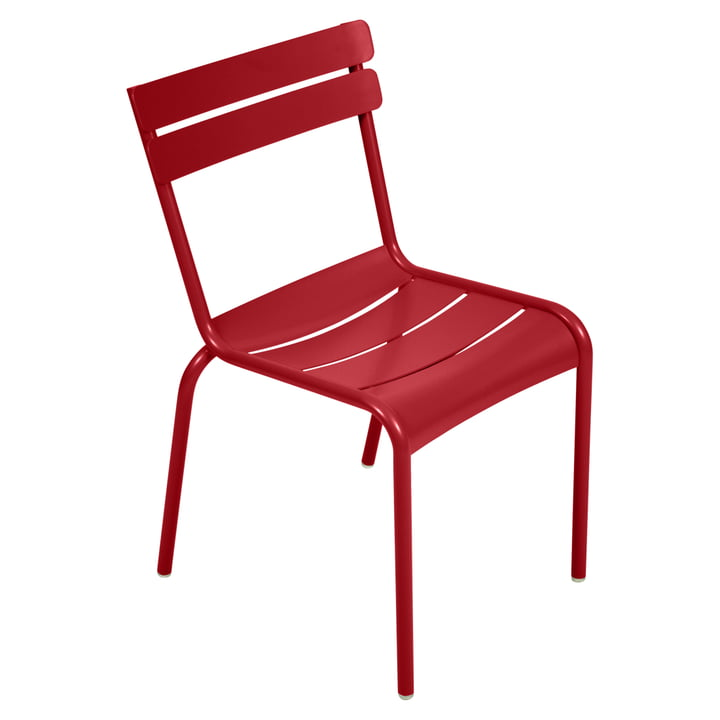 Luxembourg Chair from Fermob in poppy red