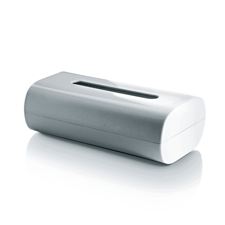 Alessi - Birillo Tissue Box, white