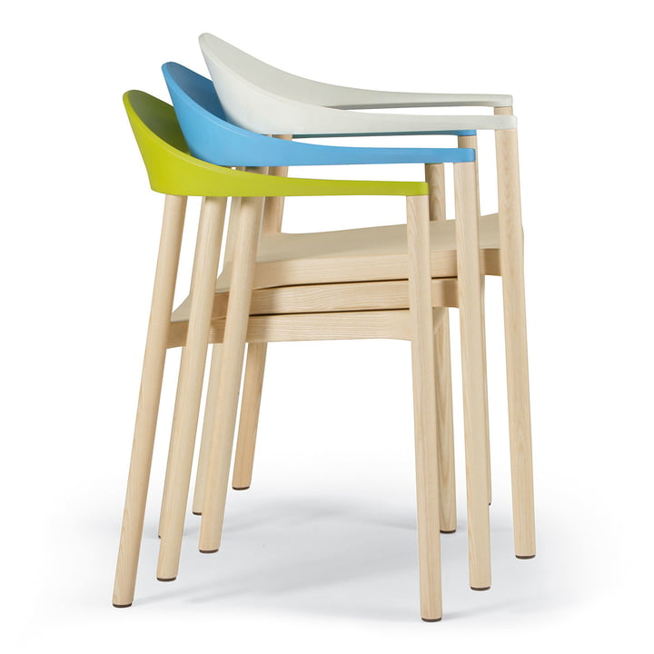 Plank - Monza Chair - Stacked