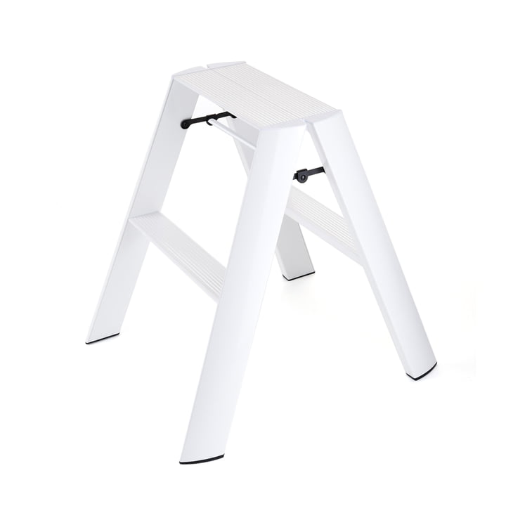 Metaphys - Lucano 2 step stepladder, white