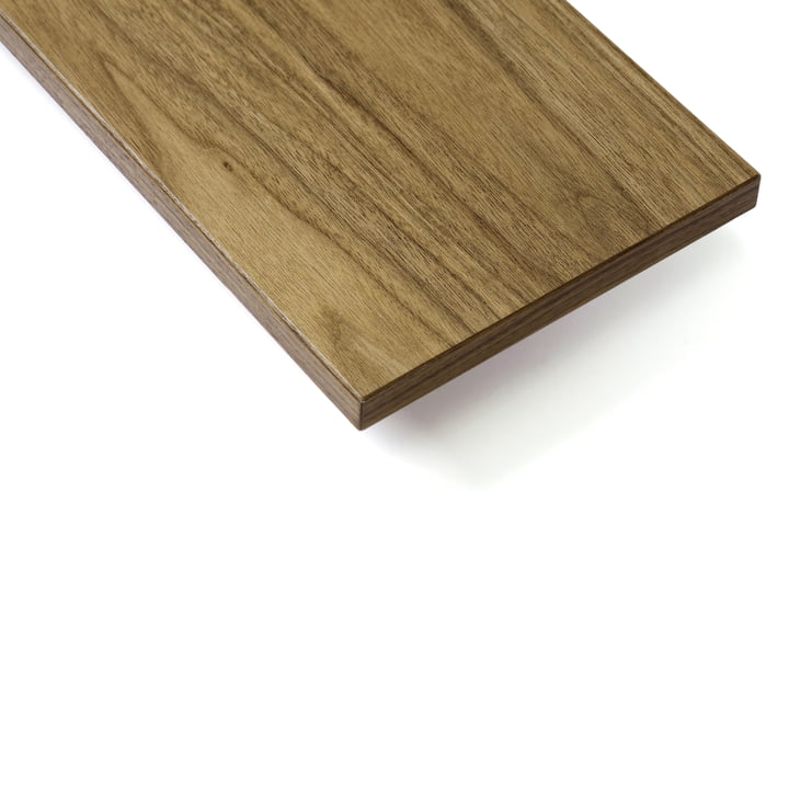 Shelf board (pack of 3) by String in walnut