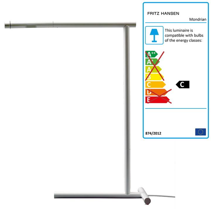 Lightyears - Mondrian Table Lamp, white
