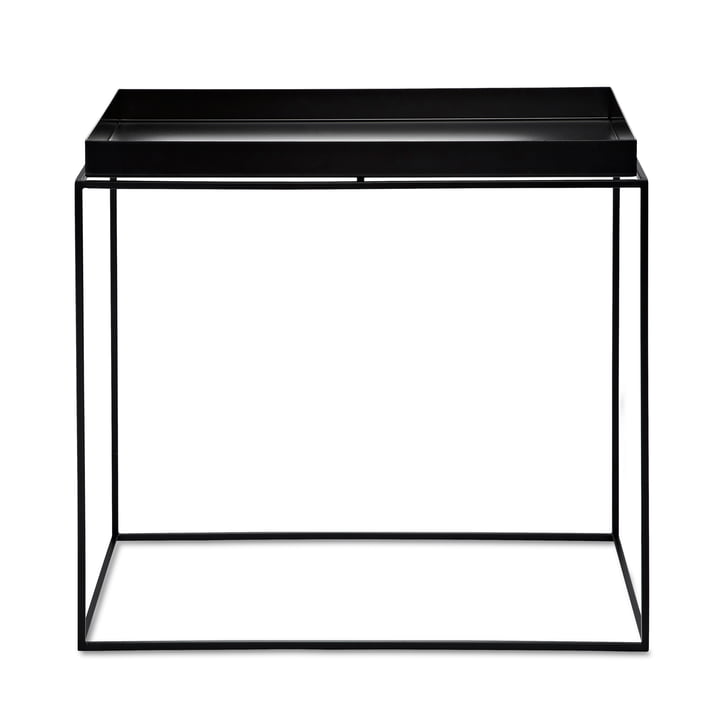 Hay - Tray Table rectangular, 60 x 40 cm, black