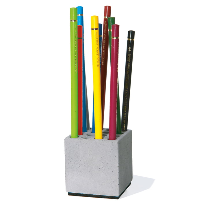 pen holder block by korn produkte in the shop. Black Bedroom Furniture Sets. Home Design Ideas