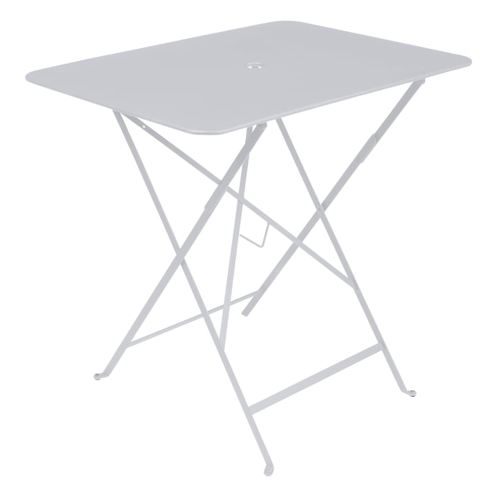 Bistro Folding table 77 x 57 cm from Fermob in cotton white