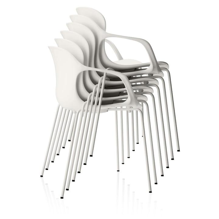 Fritz Hansen - Nap Chair, armrests, stacked