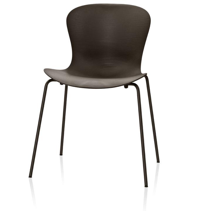 Fritz Hansen - Nap Chair, coffee brown