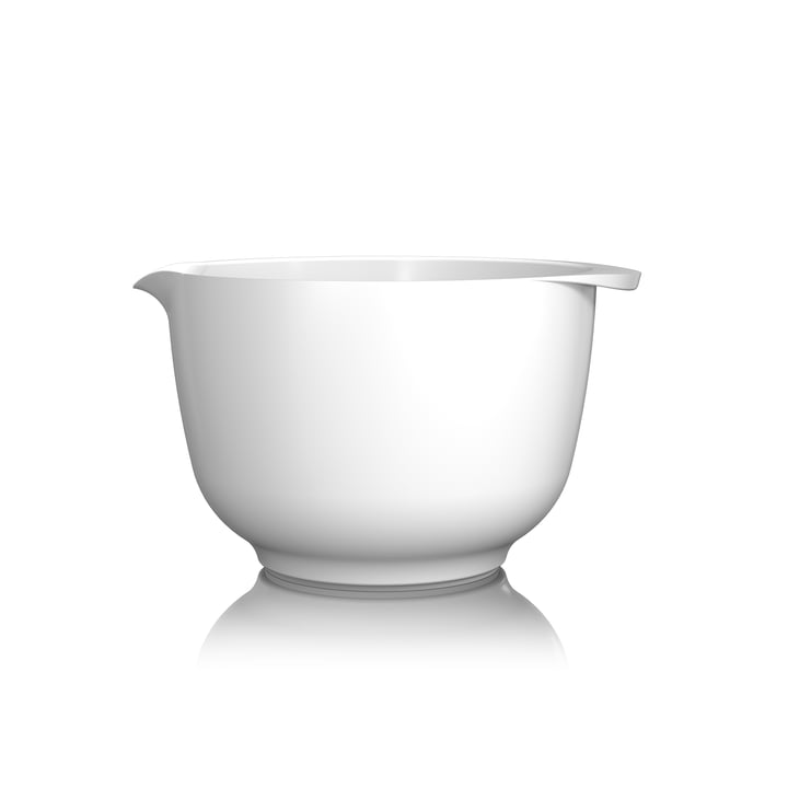 Mixing bowl Margrethe, 2.0 l from Rosti in white