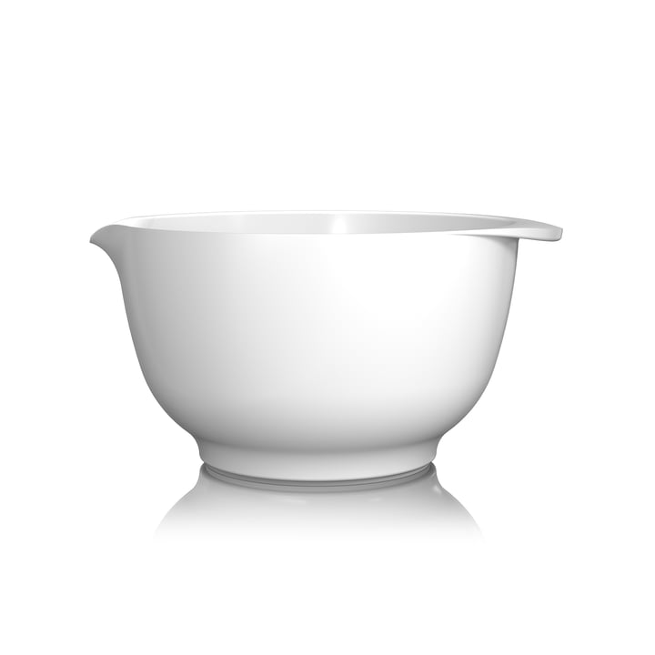Mixing bowl Margrethe, 3.0 l from Rosti in white