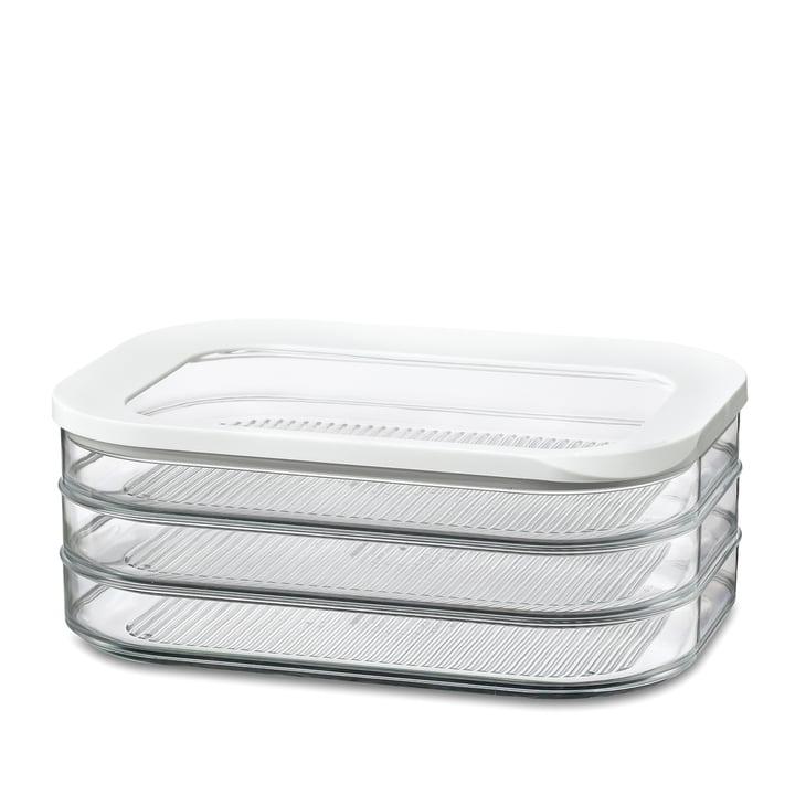 Rosti Mepal - Modula Fridge box, cold cuts 550/3 white