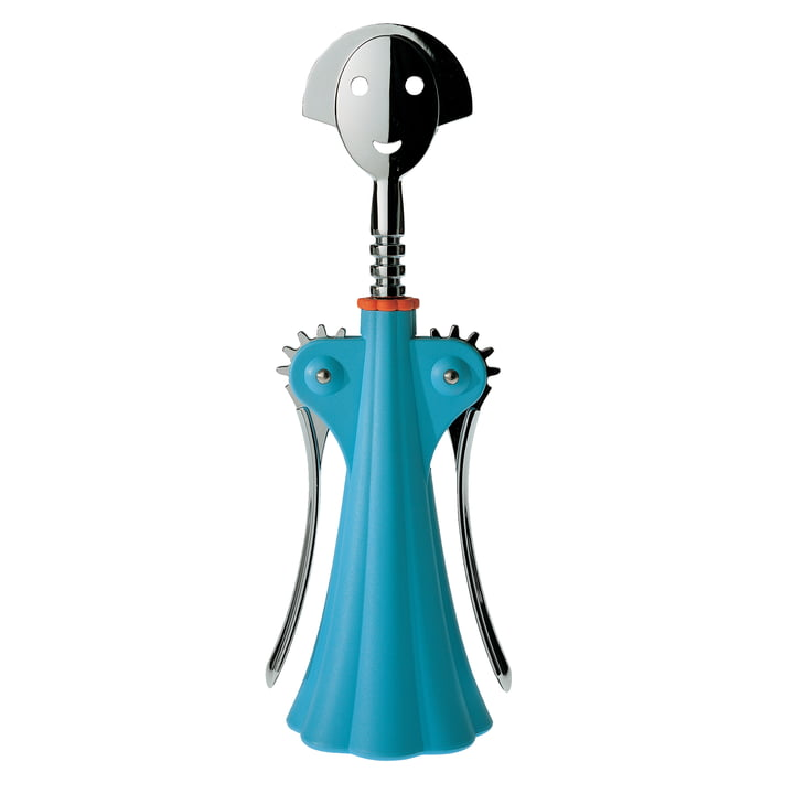 Corkscrew Anna G. from Alessi in blue