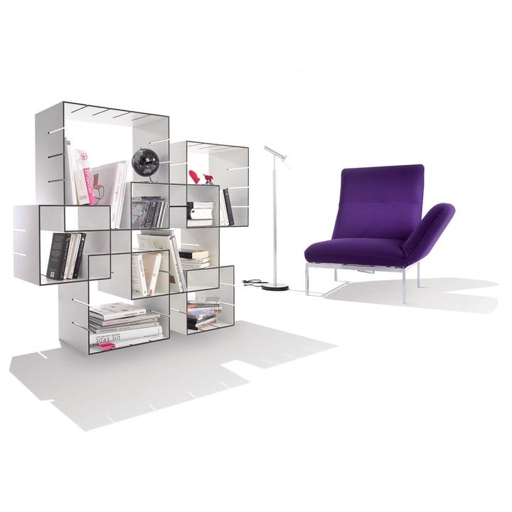 Müller Möbelwerkstätten - Konnex Shelf System - Ambiente