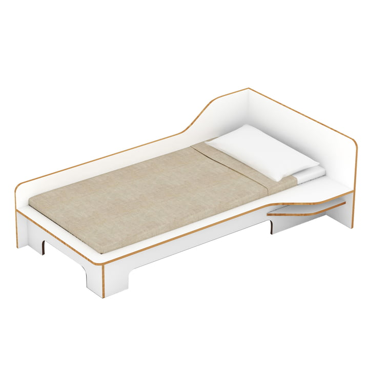 Müller Möbelwerkstätten - Plane single bed - right