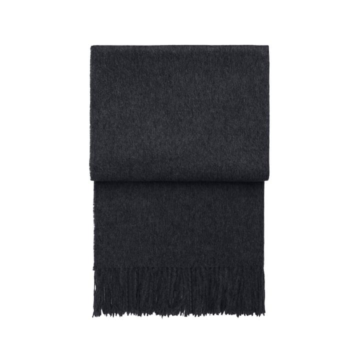 Classic blanket, dark grey by Elvang