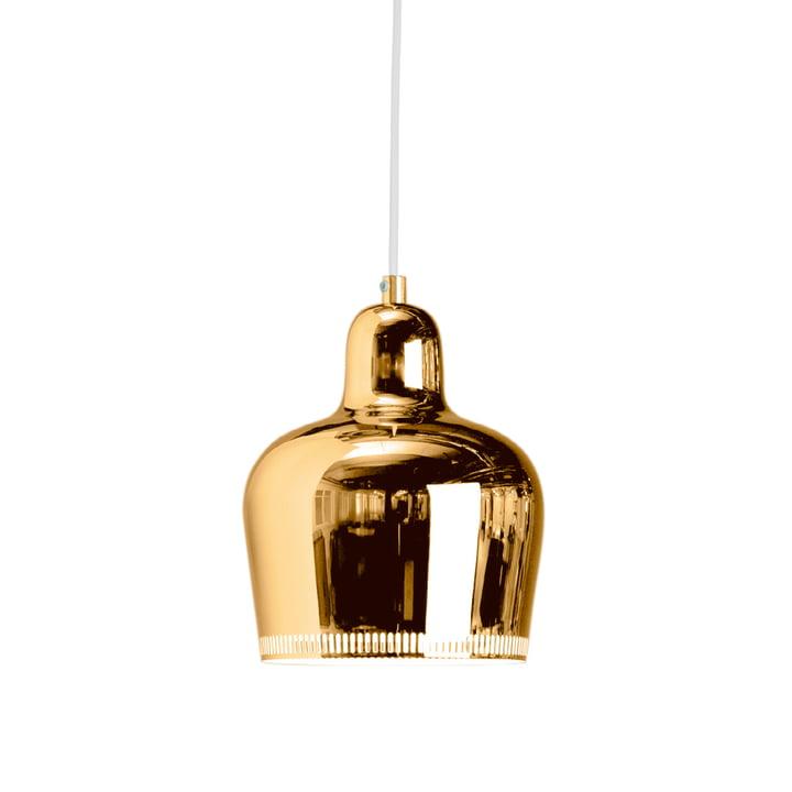 Artek - A 330S Golden Bell pendant, brass