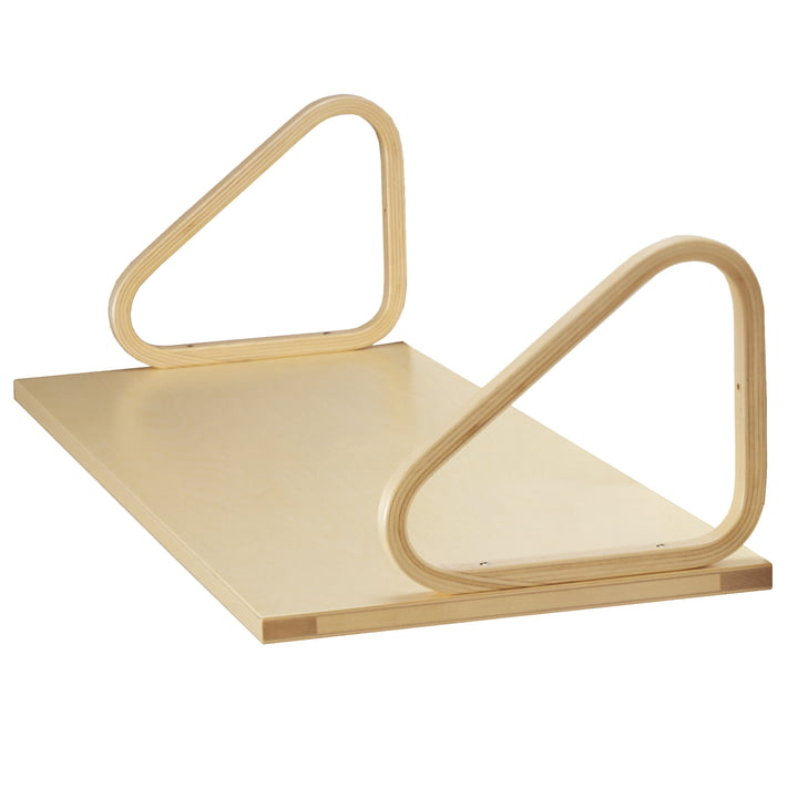 Artek wall shelf 112A, birch