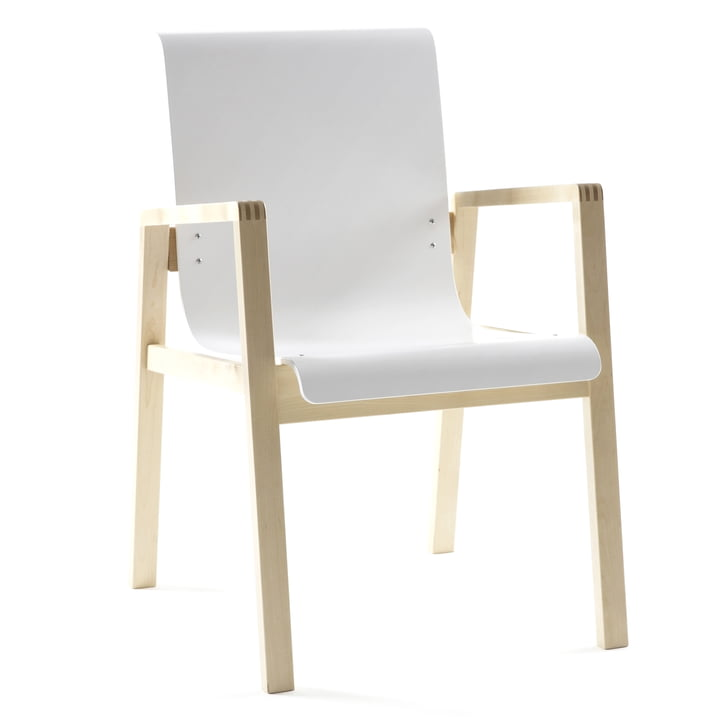 Artek - 403 Hallway Armchair, white