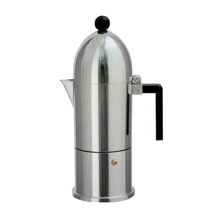A di Alessi - La Cupola Espresso Machine 9095, 15 cl, black