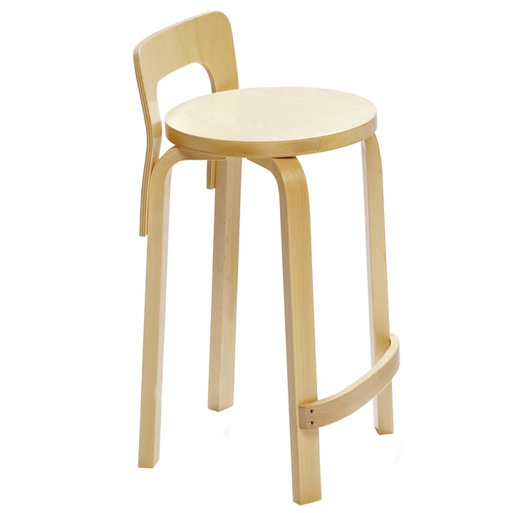 Artek - K65 Kitchen chair, single image