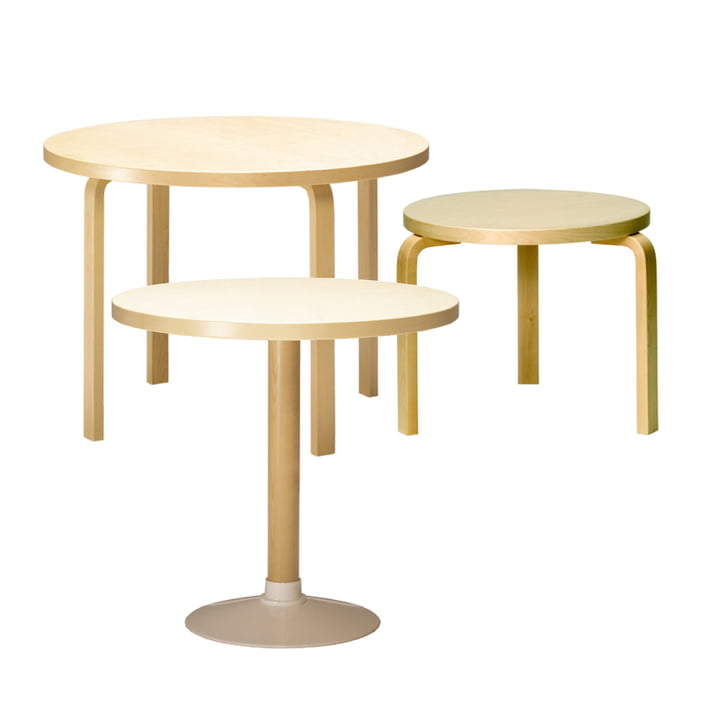 Artek - 90A Round table, group