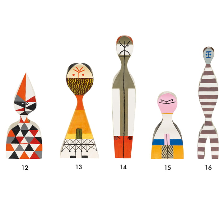Vitra - Wooden Dolls - group 12-16