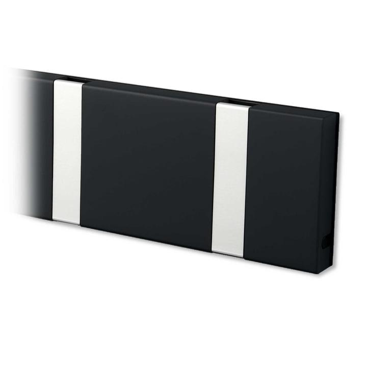 Knax coat rack from LoCa in black / grey